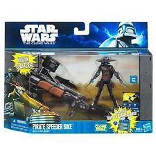 Star Wars Cad Bane + Pirate Speeder Bike action figure new sealed