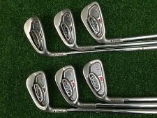 GOLF CLUBS  PING  i15  IRONS  5 - W    BLACK  DOT  PING  AWT  SHAFTS  LEFT HAND