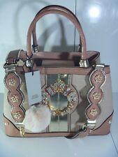 Item 1 River Island Embellished Bag Jewel Shoulder Strap Pink Handbag New Sold Out
