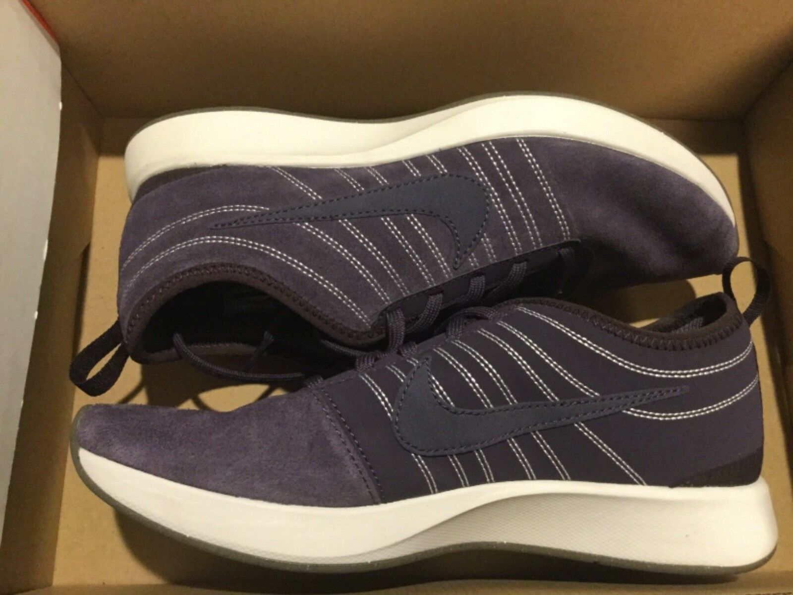 New Shoes Nike Womens Dualtone Racer SE Run Running Shoes New 940418-500 Sz 7 purple 223114