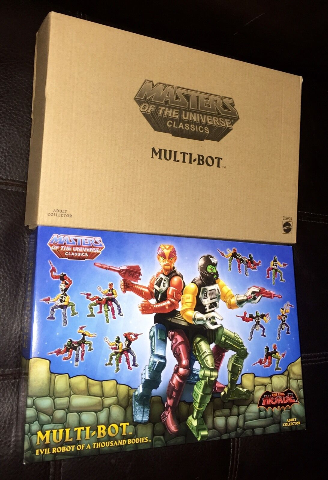 MULTI-BOT Figure Mattel 2015 Club Eternia Exclusive MOTUC MOTU Classics