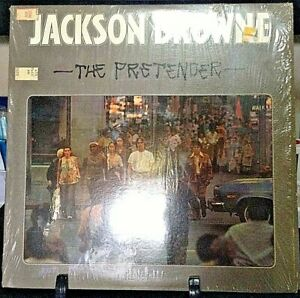JACKSON-BROWNE-The-Pretender-Released-1976-Vinyl-Record-Collection-US-pressed