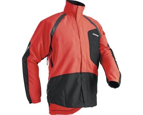 Giacca Cardigan Forestale Jonsered Pro Light rosso nero