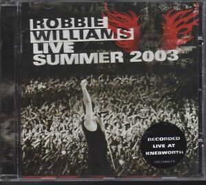 Robbie Williams cd Live Summer 2003