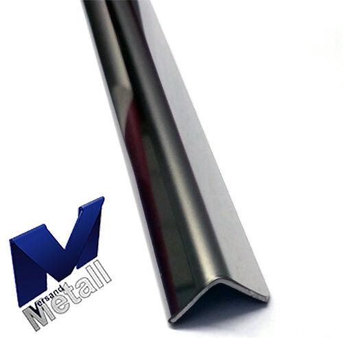 1,0m Edelstahlwinkel Eckschutz axb 160x10mm L=1000mm AUSSEN 3D spiegelpoliert
