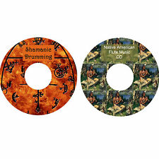 Shamanic Drumming & Native American Flute Music CDs Relaxation Stress Relief