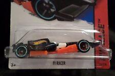 HW HOT WHEELS 2014 HW RACE #146/250 F1 RACER INDY CAR HOTWHEELS BLK/ORNG