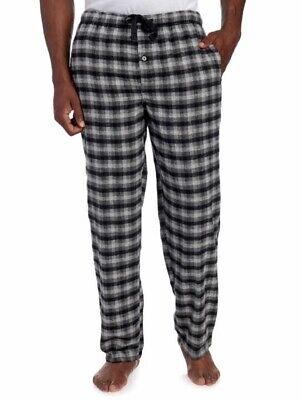L PERRY ELLIS Flannel Pajama Lounge Pants Plaid  XL M