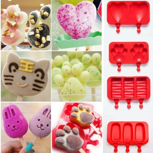 8 Shapes Silicone Cake Decorating Moulds Candy Cookies Chocolate Baking Mold