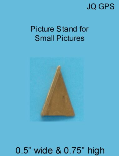 GOLD PICTURE STAND Dollhouse Miniature 1:12 scale Acessories