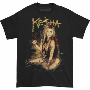 Kesha-Men-039-s-Party-T-shirt-Black