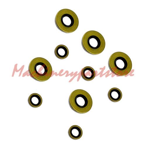 5X STIHL 038 av super magnum MS380 MS381 Oil seal sets OEM# 9640 003 1880