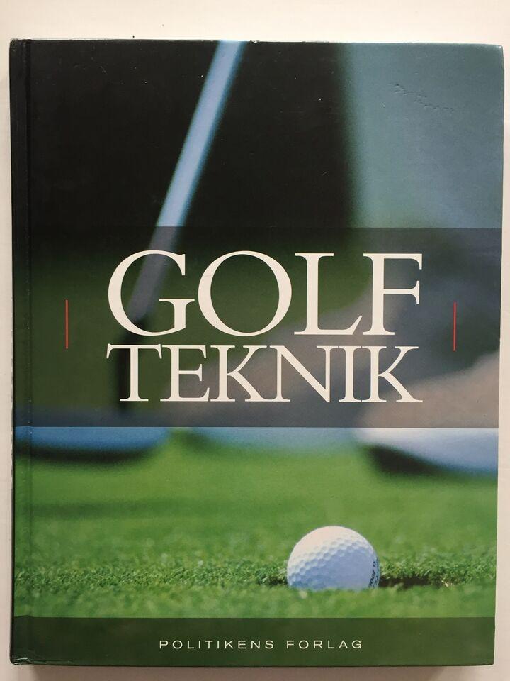 Golf Teknik - Politikens forlag, Malcolm Campbell, emne: