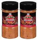 McCormick Grill Mates Applewood Rub Savory And Slightly Sweet 9.25 oz Pack of 2