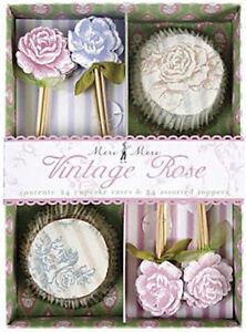 Meri-Meri-Vintage-Rose-Cupcake-Kit-Pack-of-24