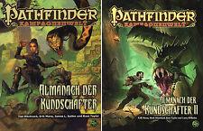 Pathfinder Kampagnenwelt: ALMANACH DER KUNDSCHAFTER I & II (1, 2)-Quellenbuch