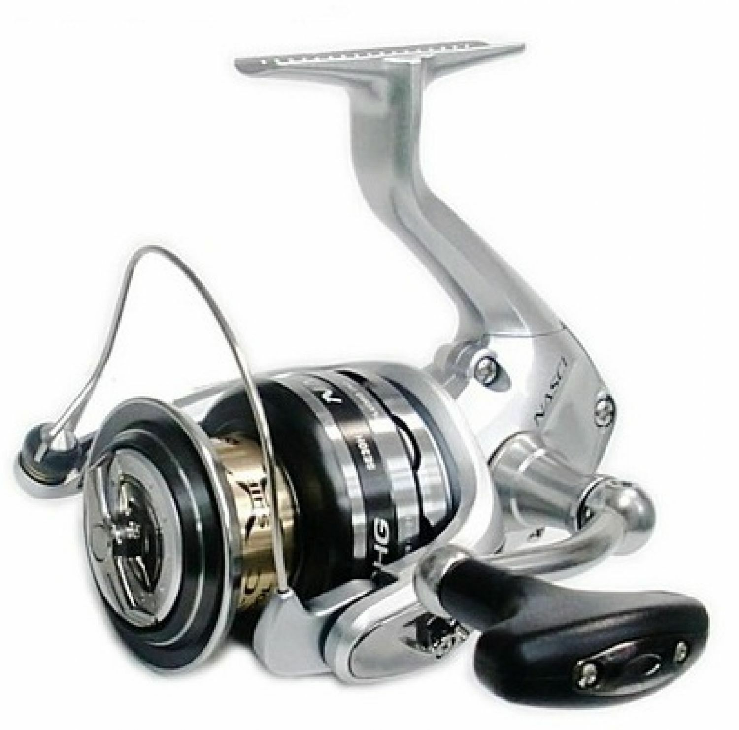 Shimano Nasci 4000 HG Spinnrolle Frontbremsrolle Angelrolle Angeln