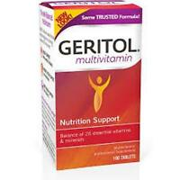 Geritol Complete Multi-vitamin Mineral Supplement Tablets, 100 Count (3 Pack)