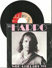 Harpo, With a girl like you, G-/VG, 7'' Single, 3917