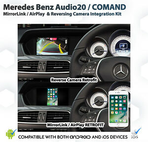 Details about Mercedes Benz W212 E class android ios AirPlay MirrorLink &  Camera Install VIC
