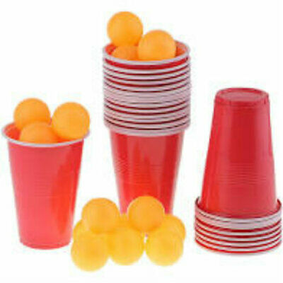 Beer Pong Set Brand New Drinking Game Novelty Gift Fun Party Alcohol American