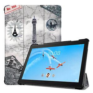Cover Pour Lenovo Tab p10 tb-x705f tablethülle SMART CASE SLEEP/WAKE Sac Slim