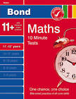Bond 10 Minute Tests Maths 11-12 Years by Sarah Lindsay (Paperback, 2008)