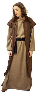 Bible Story Nativity-SAVIOUR/DISCIPLE/APOSTLE Waistcoat-Tunic Costume SML-XXXXL
