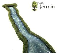 WARGAMES resina FIUME a flusso di transizione Set-Terrain-fornito non verniciato