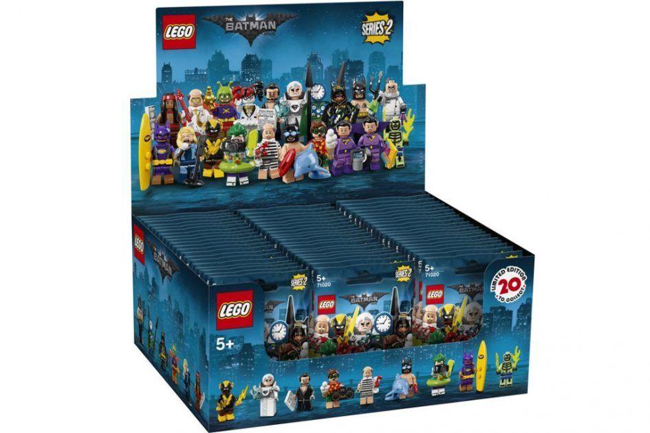 LEGO ® minifig Batman movie series 2 - 71020-Display Conferen