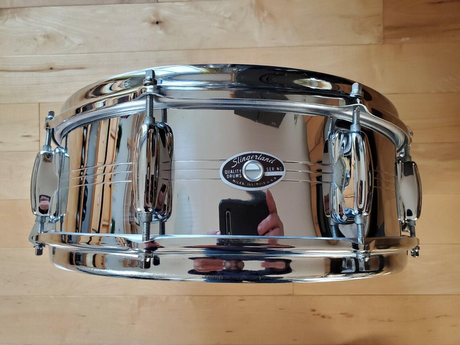 Slingerland Gene Krupa Sound King Model Snare Drum vintage 70's era