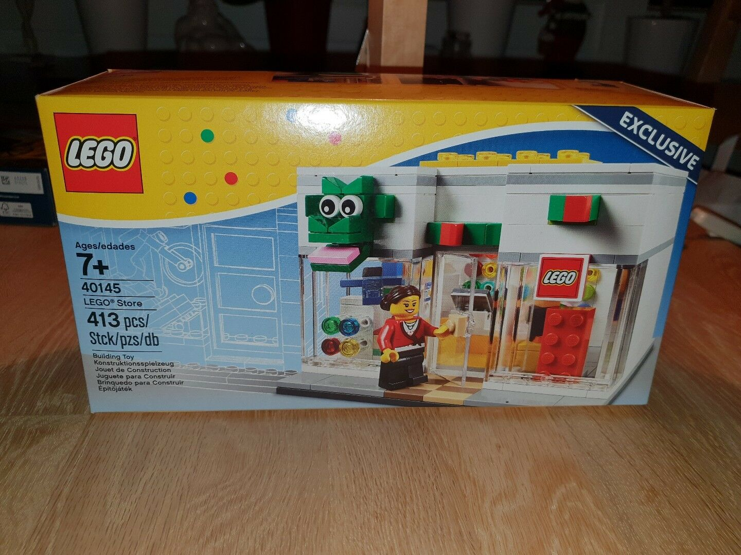 Lego Lego Lego Store exclusive Modell 40145 grand opening Eröffnung Building Toy 2ba0f8