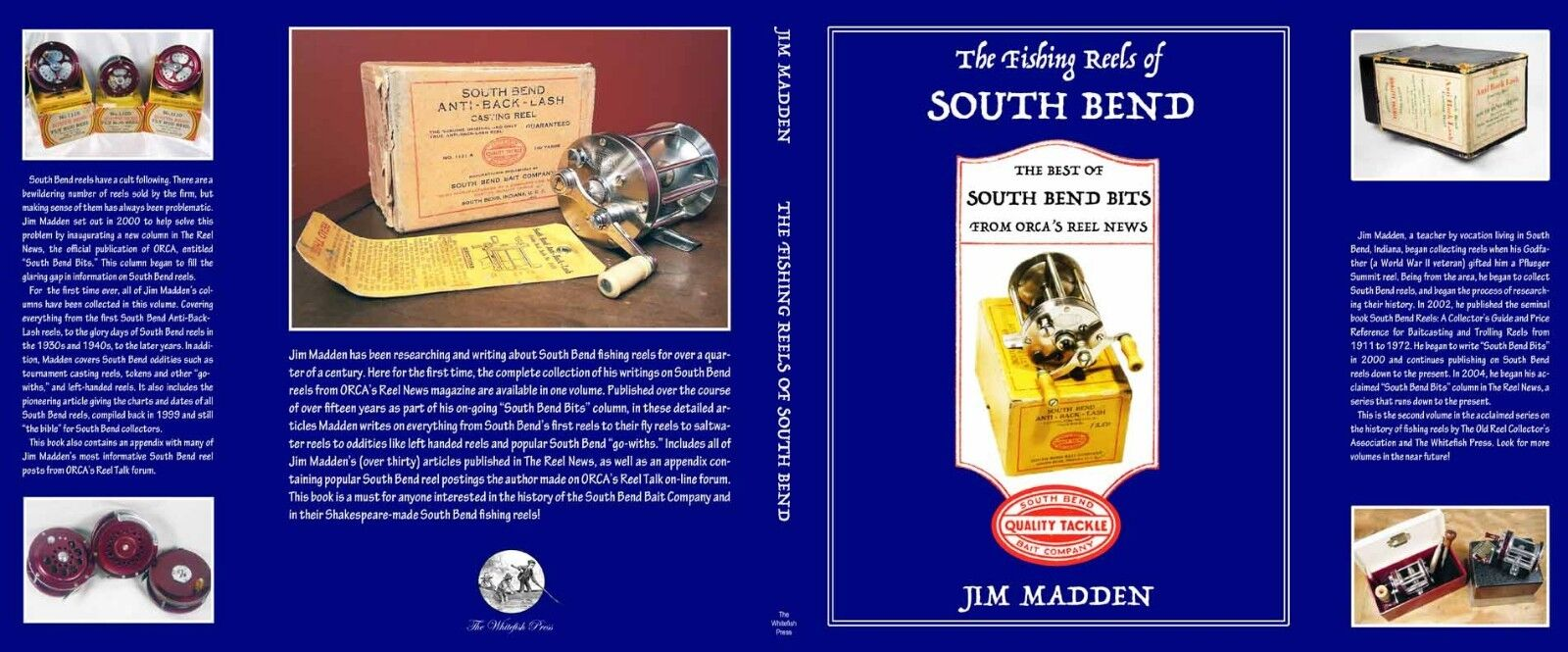 The Fishing Reels of South Bend  Best of South Bend Bits - Signed Hardcover