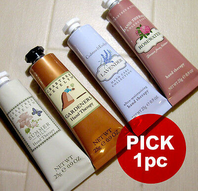 pick 1 crabtree & evelyn hand therapy hand cream travel size 25g / 0.9oz