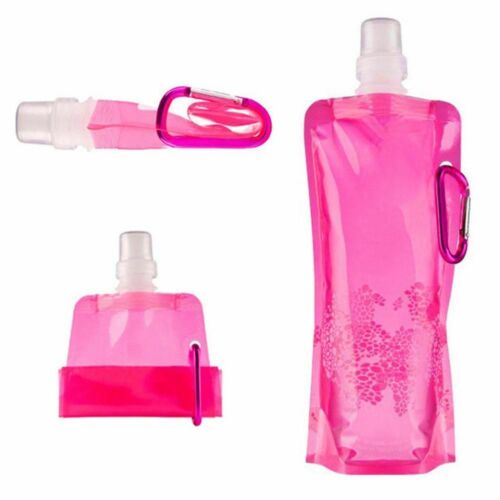 Portable Ultralight Water Bag Soft Flask New Bottle Outdoor Sport Hiking Camping