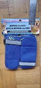 Neoprene-Dog-Boot-Small-Blue