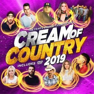 Cream-of-Country-2019-Various-Artists-CD-amp-DVD-Region-0-PAL-NEW