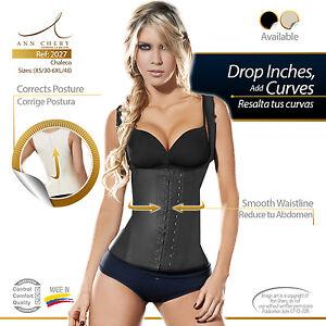 0c80090f8a7 2027 Ann Chery 2 Hooks Latex waist trainer cincher vest bodyShaper ...