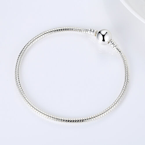 Top Selling 9 25 Silver Chain Metal Snake Chain fit Original BRACELET Jewelry