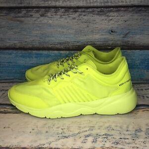 Bershka Bright Yellow Rare Tennis Shoes