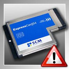CHIPDRIVE® ExpressCard 54 ~ NEU ~ SCM Chipkartenleser HBCI ~ Chipkartenlesegerät