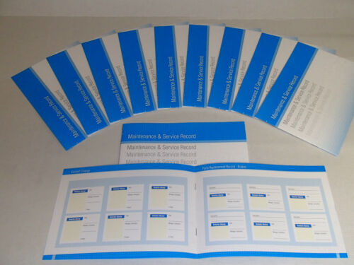 Replacement Generic Service History Book Suitable For Mazda