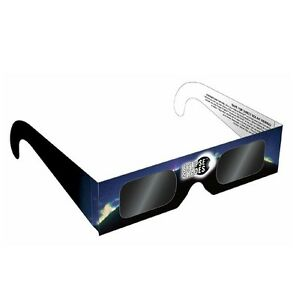 Solar Glasses for 2017 Solar Eclipse Rainbow Symphony ISO CERTIFIED (Blue)