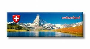 Schweiz-Matterhorn-Berge-Suisse-Foto-Panorama-Magnet-Souvenir-Fridge