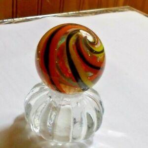 "1 1/2"" HANDMADE Marble Gold Stone !  (NEW LATTICINO STYLE CORKSCREW)"