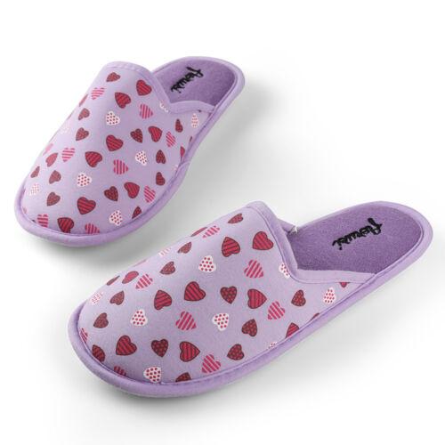 Pink Winter Warm Women Home Floor Soft Slippers Anti-slip Cotton Slide Shoes