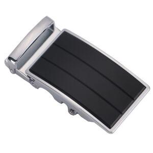 Men-039-s-Solid-Belt-Buckle-Replacement-Automatic-Ratchet-Leather-Belt-Buckles-1-3-8