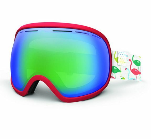 NEW 2016 Von Zipper Fishbowl Goggles-COR Coral Pink-SAME DAY SHIPPING
