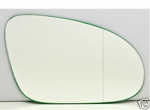 Right-Driver-Wing-Car-Mirror-Glass-Replacement-WIDE-ANGLE-VW-Golf-5-2003-2008