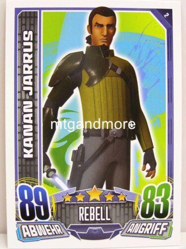 #002 Kanan jarrus-star wars rebel Attax